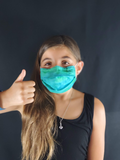 Surgical Style Face Mask with built in Filter - Kids