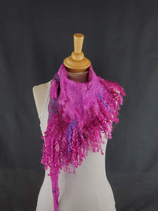 Electric Pink Full Fringe - Designer Wrap