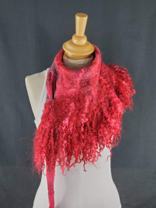 Desirable Red Full Fringe - Designer Wrap