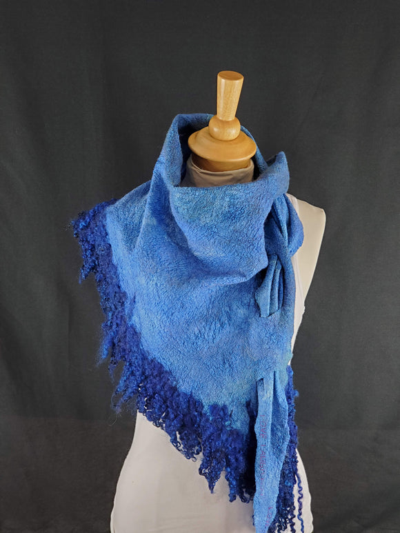 Perfect Blue Full Fringe - Designer Wrap
