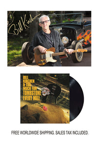 Bill Kirchen Signed Limited Edition Photo with Vinyl LP Bundle