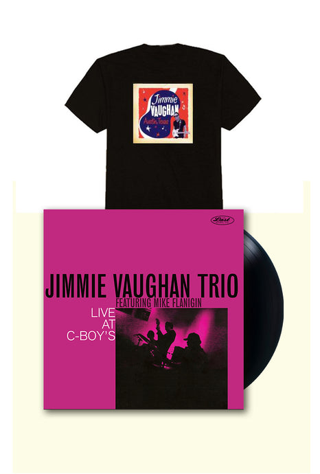 Jimmie Vaughan Signed