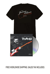 James Oliver Signed CD and Tee Shirt Bundle Pre-Order