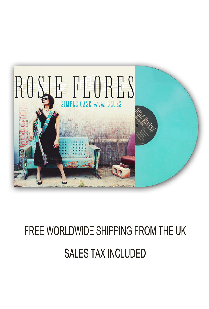 Rosie Flores Signed Limited Edition Coloured Vinyl
