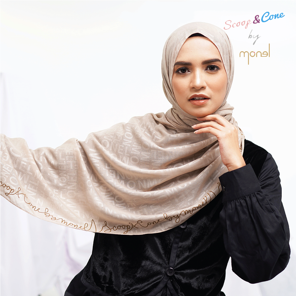 Pashmina Embossed Cream