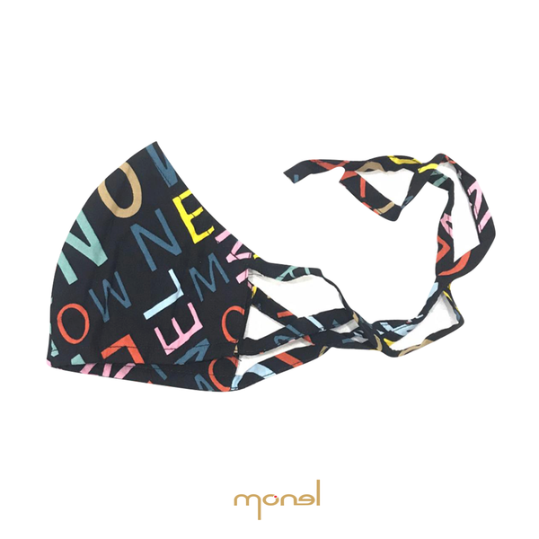 Multicolour Monel Mask