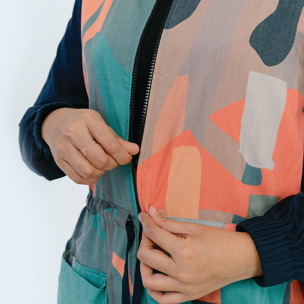 Abstract Print Jacket
