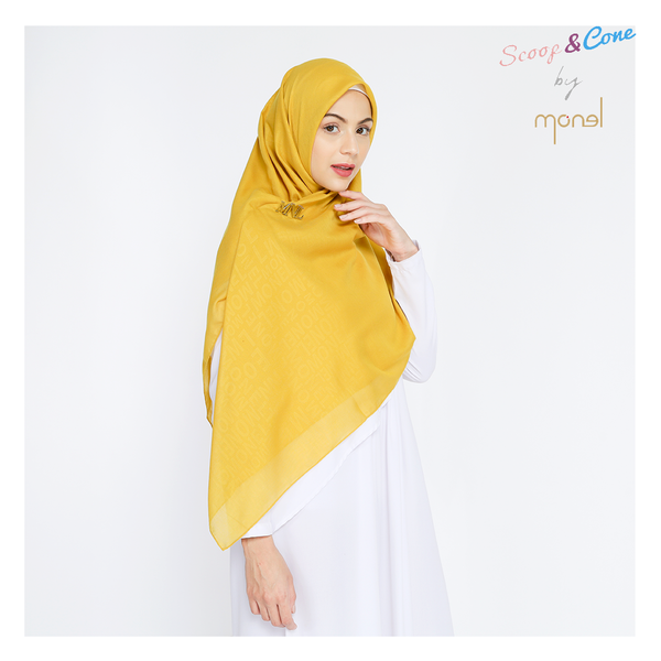 Embossed Syar'i Yellow