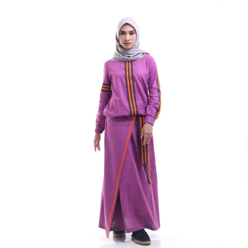 Raaya Suit Purple
