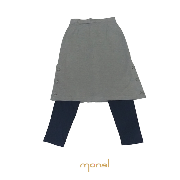 Folded Skirt Button