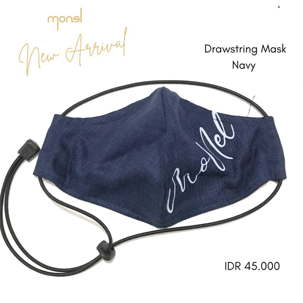Draw String Mask Navy