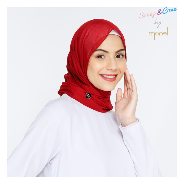Notera Pashmina Red