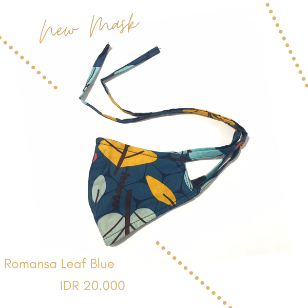 Romansa Leaf Blue