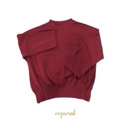 Smocked Basic Top Red