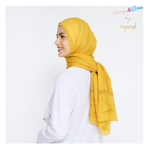 Notera Pashmina Yellow