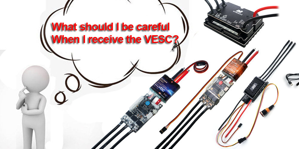 What Should I be noted When I use VESC?