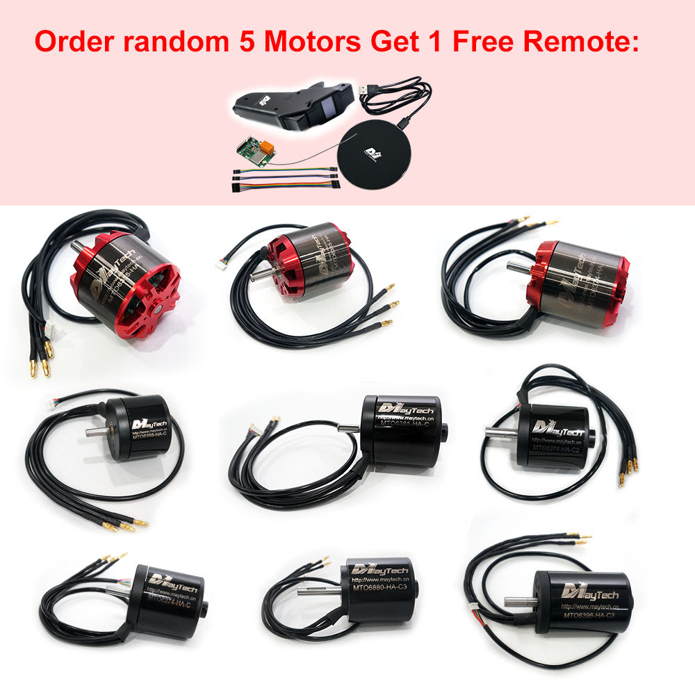 Buy Motor Get Free Remote Promotion Pre-Notification