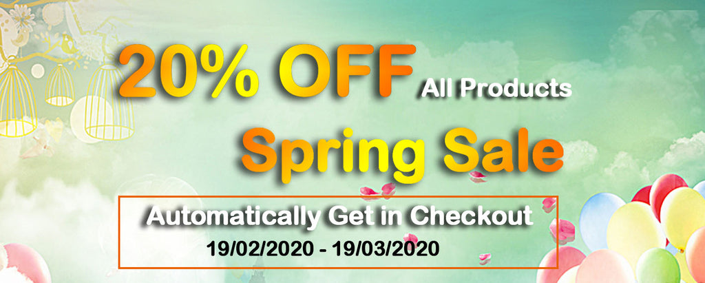 Maytech Spring Sale for All Products, 20% OFF !!!