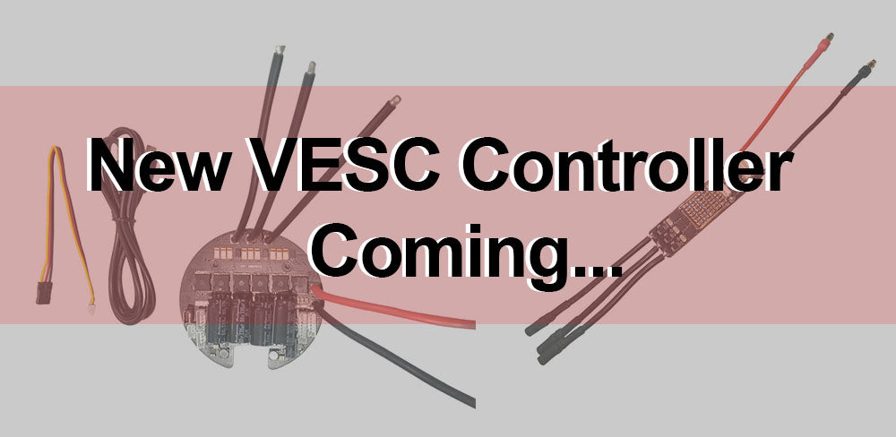 Maytech New Round and Mini VESC based on VESC6.0 Controller !