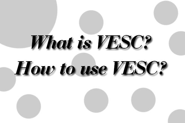 More reference: FAQ 2 (frequently asked questions) about VESC controller