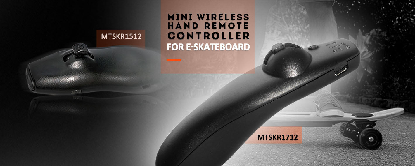 Maytech MTSKR1712 small and light 2.4G HZ PWM signal format remote controller for electric skateboard Esurf
