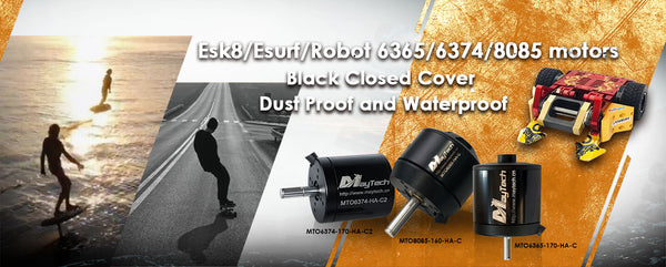 maytech brushless outrunner motors for motorized powered skateboard longboard electric bicycle e-scooter