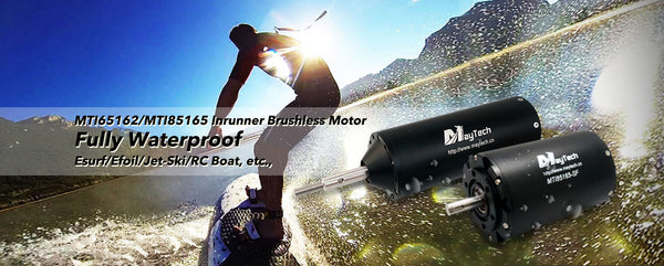 Electric surfboard products fully waterproof brushless inrunner motor 300A ESC with waterproof case and water-cooling
