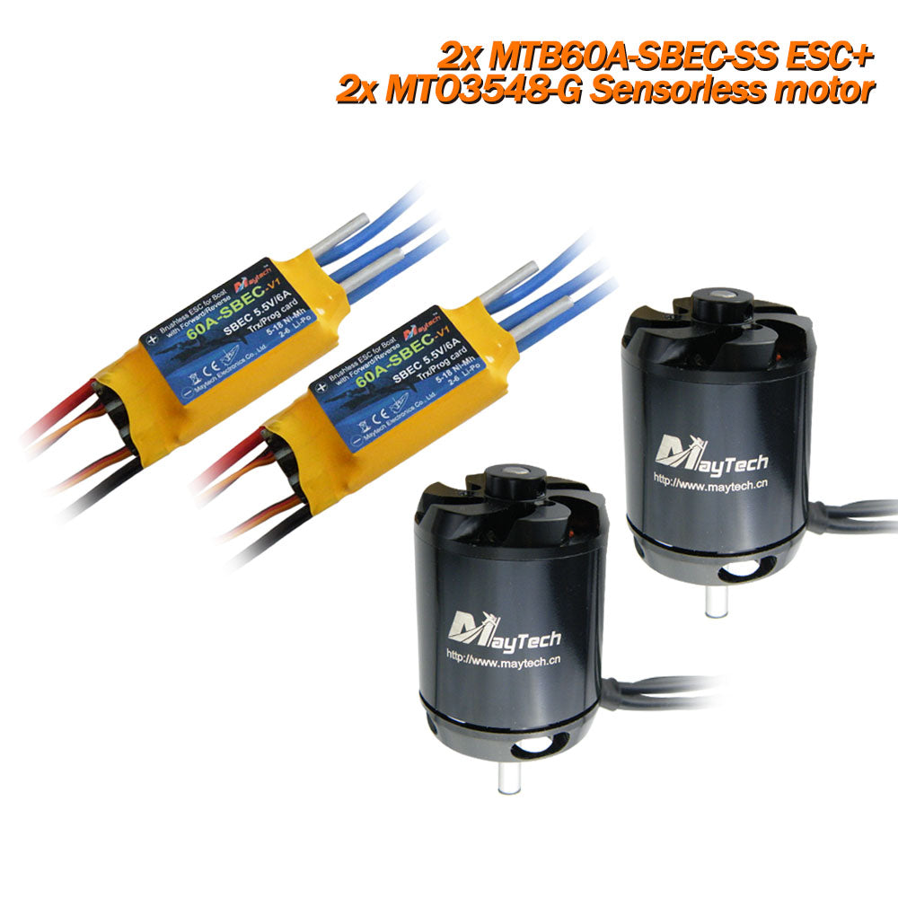 bait fishing boats, brushless motor for bait boats, brushless speed controller for fish finder boats