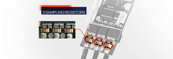 Increased One-way phase sampling resistance, which provide more accurate current data.