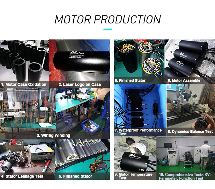 waterproof motor production process testing dynamic test immerged test waterproof testing detection