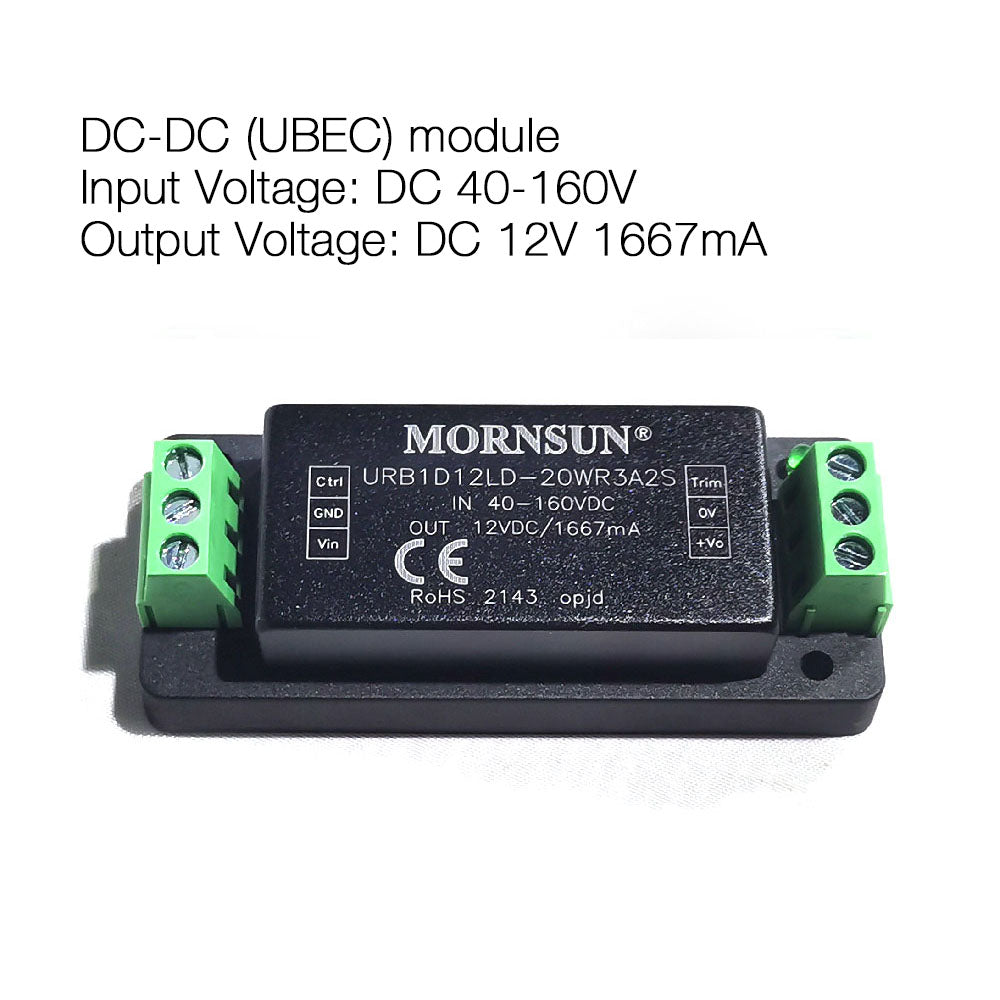 40V-160V DC to DC Morsun UBEC module for electric water pump power supply