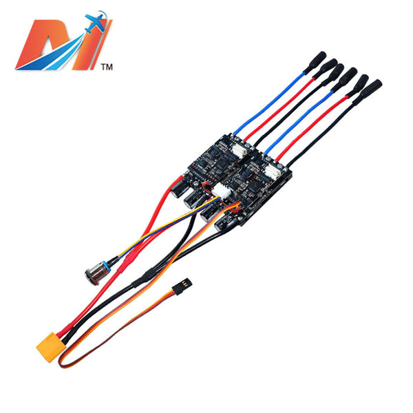 maytech mtdu30a dual esc speed controller for e-skateboard eks8 longboard battle robots