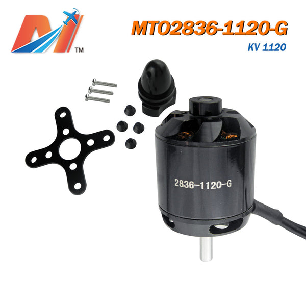 Maytech 2836 1120kv racing airplane motor helicopter engine with accessories brushless sensorless outrunner motor