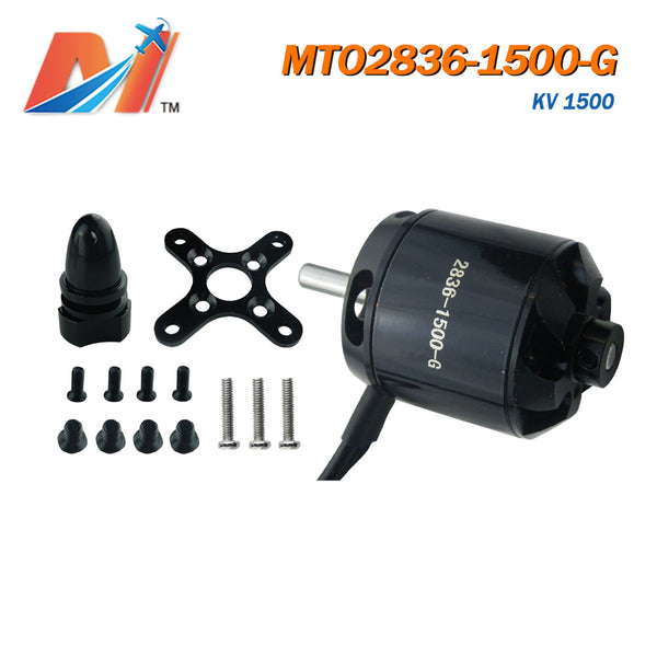 Maytech Ghost Series 2836 1500kv racing airplane motor helicopter engine with accessories brushless sensorless outrunner motor