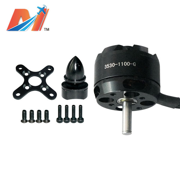 maytech 3530 brushless outrunner bldc motor for racing airplane helicopter sensorless engine with accessories