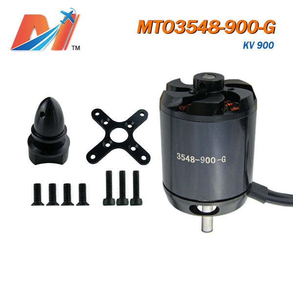 Maytech all black ghost series brushless motor with prop adaptor