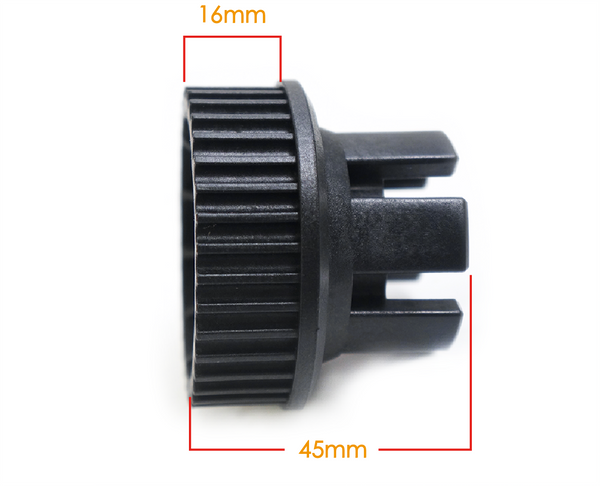 wheel pulley MTP2005C 36 teeth 5M pitch 16mm width pulley for electric skateboard longboard electric vehicles speed reduction gear reduction