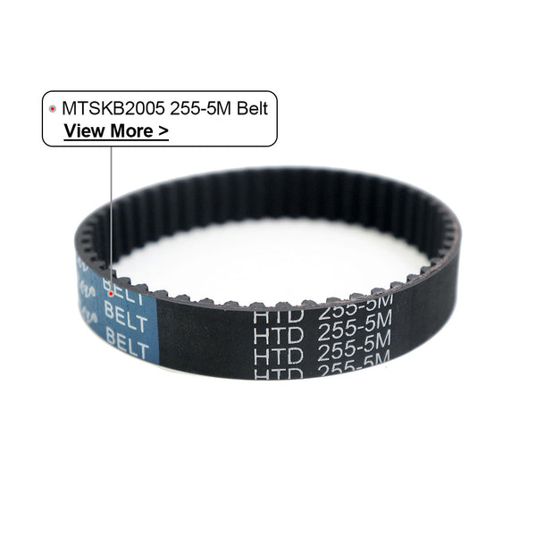 Maytech HTD255-5M Pitch belt 255mm length with 51T 15mm width for electric skateboard elongboard mountainboard