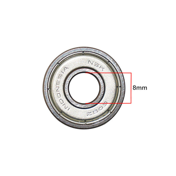 NSK ball bearing 608zz japanese high quality ball bearing 8mm center hole high-end ball bearing for wheels, brushless outrunner motor