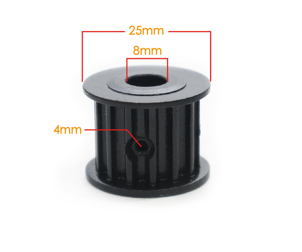 maytech MTSKG2005 motor pulley 5M 14T tooth with 16mm width with 8mm hole diameter for electric skateboard compatible with 8mm shaft motor