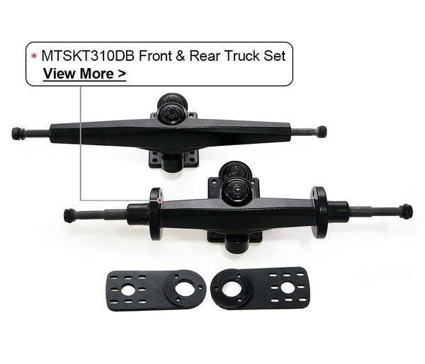 https://maytech.cn/collections/wheels/products/maytech-mtskt310db-new-truck-set-with-motor-mount-for-dual-belt-driven-skateboard-elongboard-truck-front-and-rear-truck