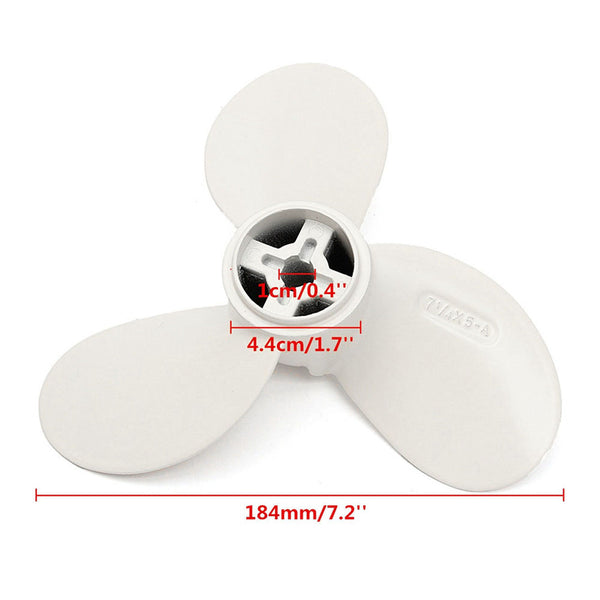 Maytech MTSP0504 7.25x5 inch Propeller for Electric Surfboard Eofil Compatible to MTI65162 Motor