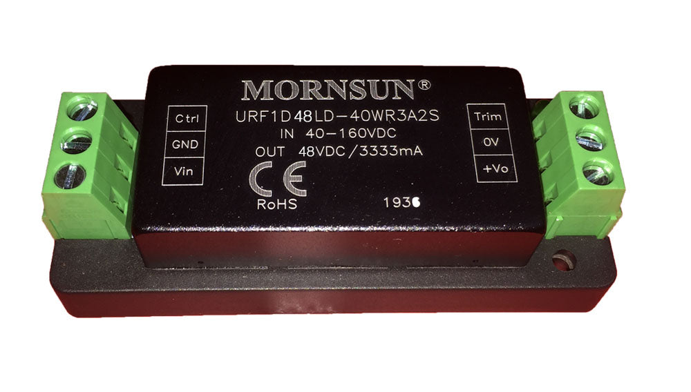 Ultra-wide input and regulated single output morsun 48V DC to DC module UBEC for electric speed controller