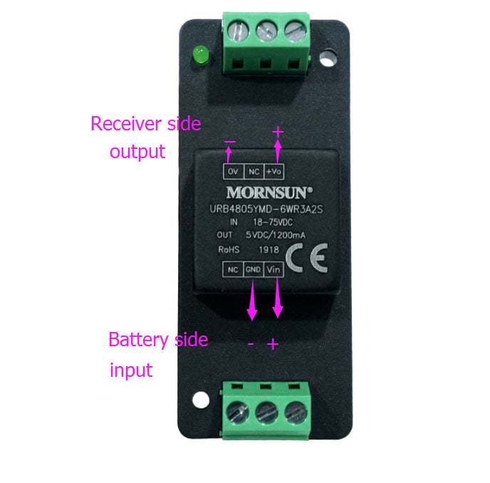 75V-5V UBEC DC-DC Module for remote receiver PWM signal power supply for esurf efoil foilboard rc boat