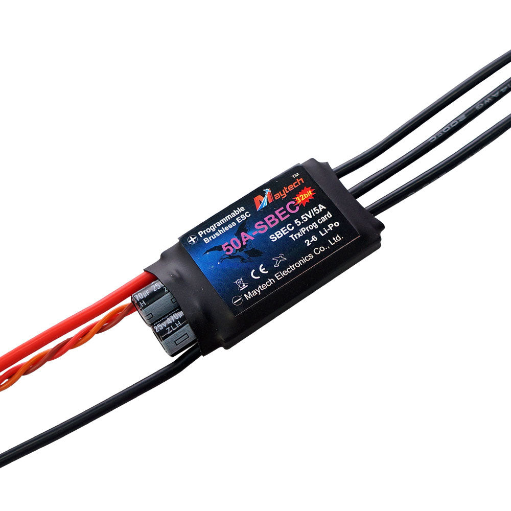 MT50A-SBEC-FP32 FP 32bit Firmware Brushless ESC for RC Hobby/Airplane/Helicopter