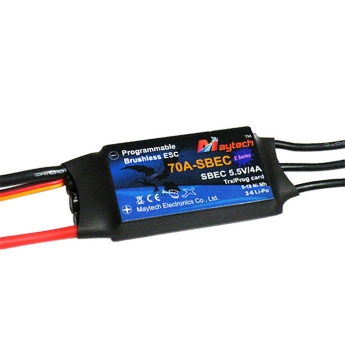 MT70A-SBEC-HE Harrier Eco Series Speed Controller 5.5V/4A SBEC for RC Airplane/Helicopter