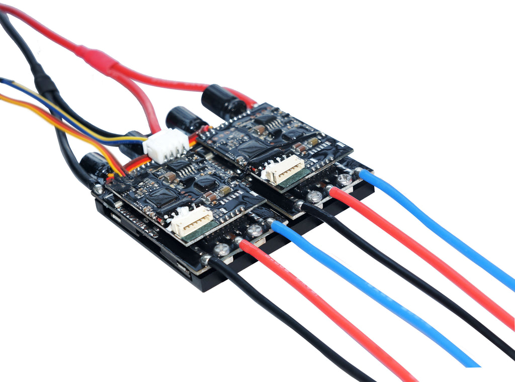 Maytech MTDU30A Dual 30A Drive Controller ESC with FOC Mode for Hub Motor/Belt-driven Motor Skateboard