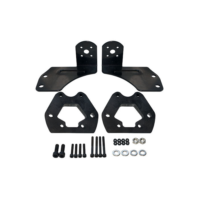 Maytech MTMSKT1709FB Front and Rear Truck Set with Motor Mount and Shock Mount Spacer for Electric Mountainboard Skateboard