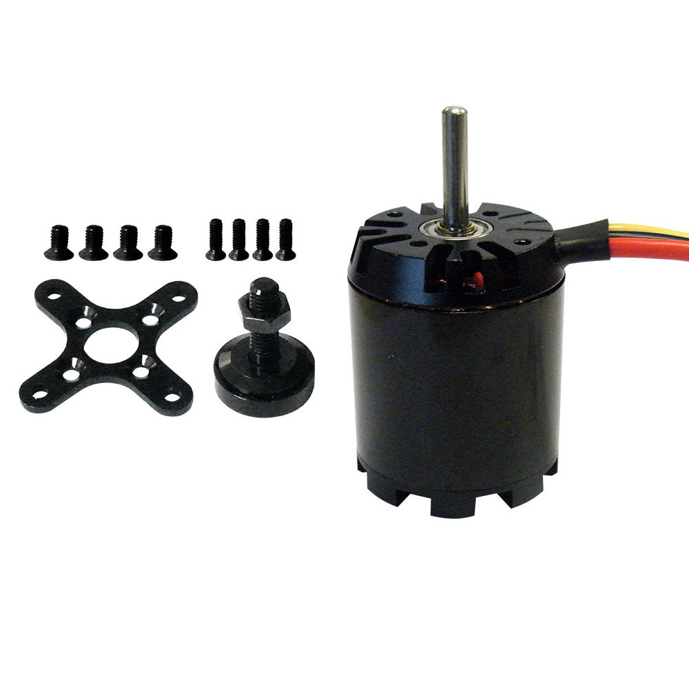 Brushless 3542 1000/1255/1455 KV Sensorless Outrunner Motor with Accessories for Airplane/Helicopter
