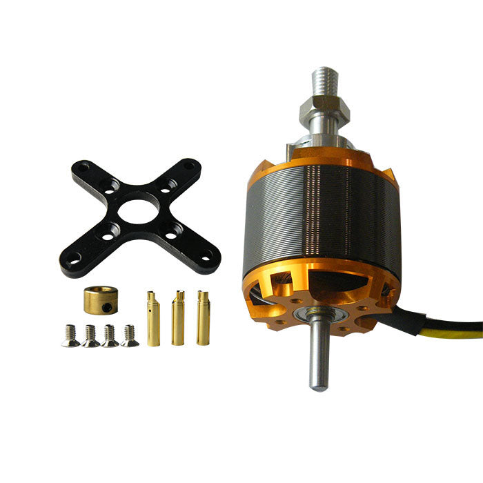 Brushless 4250 500/650KV Sensorless Outrunner Motor with Accessories for RC Hobbby Airplane/Helicopter